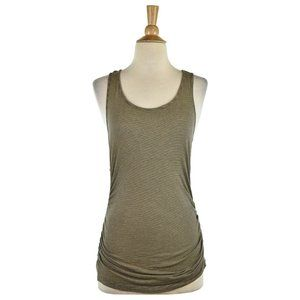 Theory Tank Tops MED Brown